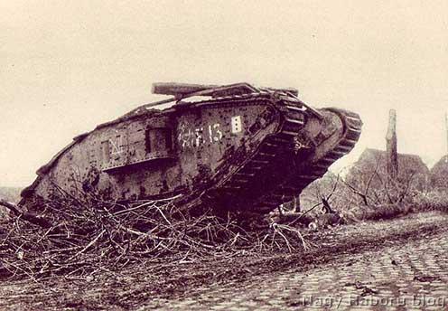 Angol tank Cambrainál