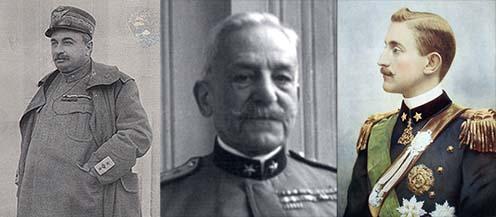 Luigi Capello, Luca Montuori és Aosta hercege