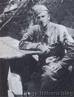 Tersánszky Józsi Jenő fronton készült fotója