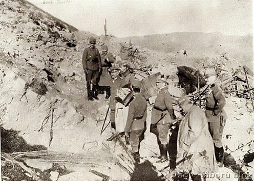 IV. Károly a Monte San Gabrielén