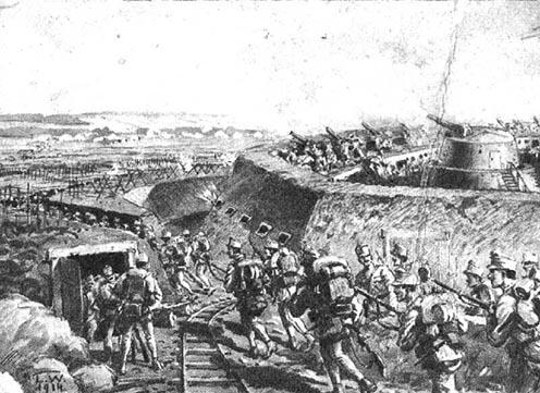 Przemyśl körüli harcok 1914 októberében