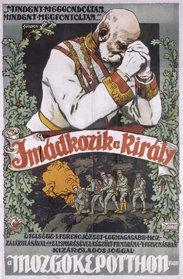 Földes Imre: Imádkozik a király (1914)