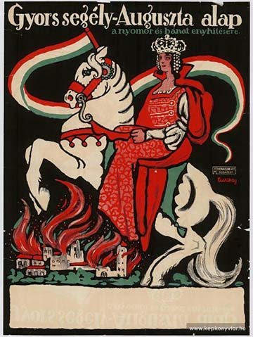 Tuszkay Márton: Gyorssegély–Auguszta alap (1914)