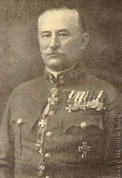 Lukachich Géza tábornok háború után készült portréja