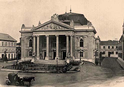 A nagyváradi Szigligeti Színház a századelőn