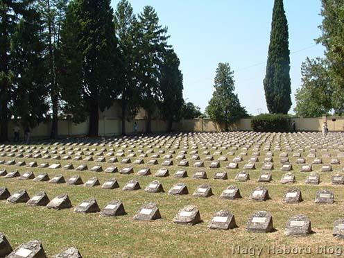 A Foglianóban található osztrák-magyar katonatemető napjainkban