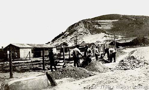 Orosz hadifoglyok az Esztergom melletti Kenyérmezőn