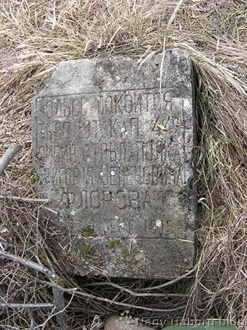 Florov százados sírköve
