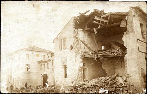 Falze di Piave, 1918 nyara