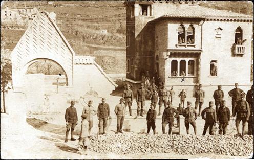 69-esek Falze di Piavéban, Palló Mihály x-el jelölve