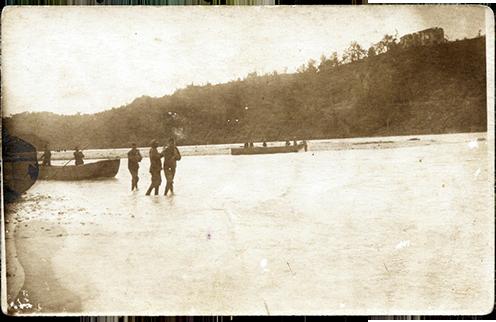 A Piave partja, 1918 nyara