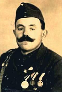 Palló Mihály kitüntetéseivel