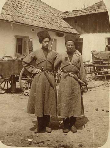 Kozák katonák