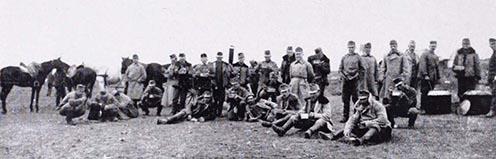 """""""Menázsizó"""" huszárok 1915 tavaszán az orosz fronton"""