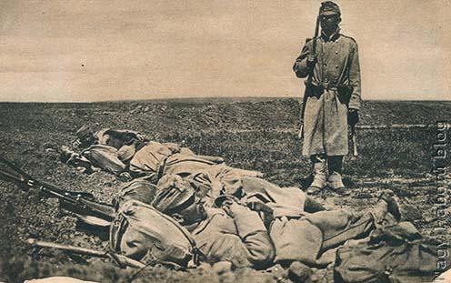 Alvó katonák
