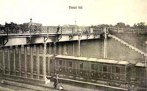 vasúti híd, Debrecen