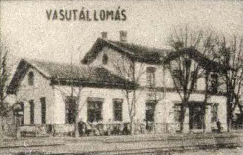Huszt vasútállomása