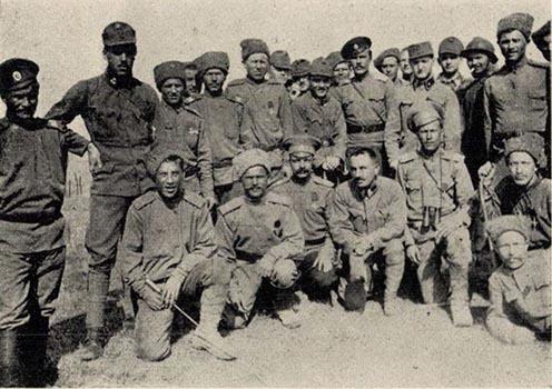 1917 húsvéti frontbarátkozás egy másik frontszakaszon