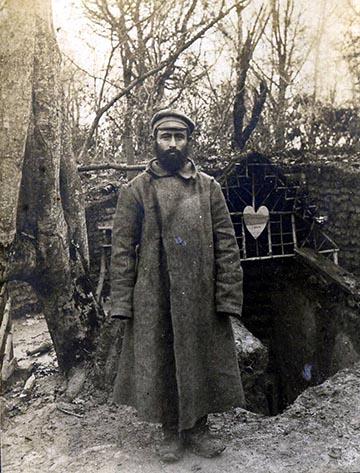 Orosz hadifogoly katona