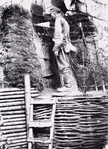 Géppuskaállás a Dadulon 1917 tavaszán