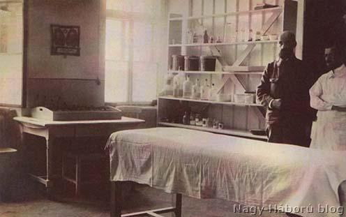 Kórház kezelőhelyisége