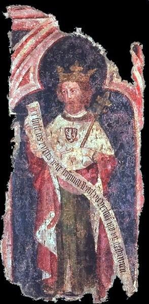 IV. Károly császárt ábrázoló falfestmény a kölni városházából