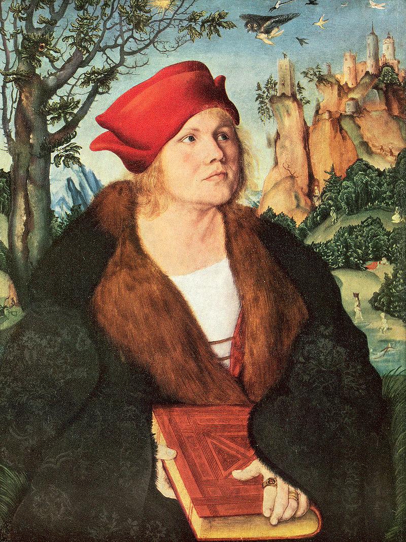 Johannes Cuspinianus idősebb Lucas Cranach festményén