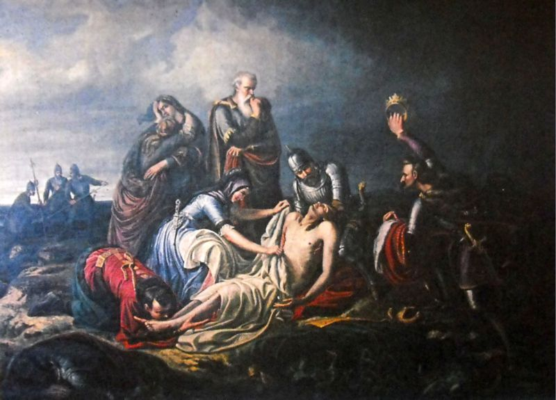 Orlay Petrich Soma: II. Lajos holttestének a megtalálása