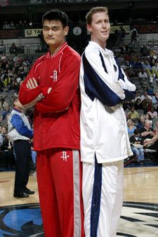 Yao Ming Height At 13