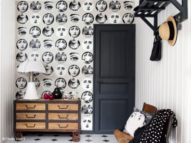 Ki itt bel psz jfent el szob k nem art decor for Papier peint entree maison