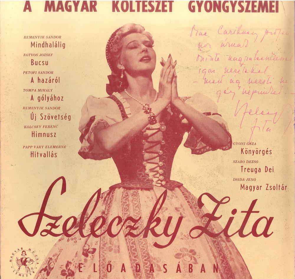 A magyar költészet gyöngyszemei lemezborító