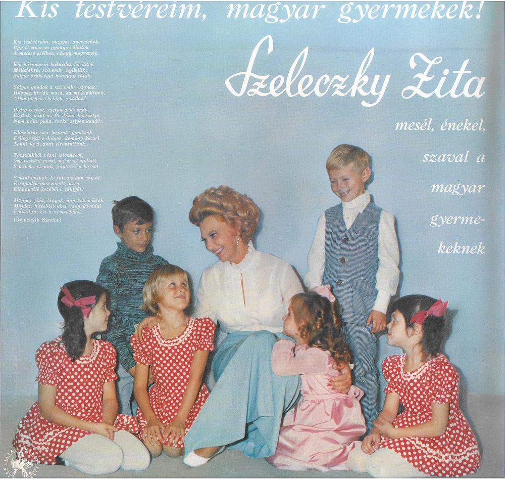Kis testvéreim, magyar gyerekek lemezborító