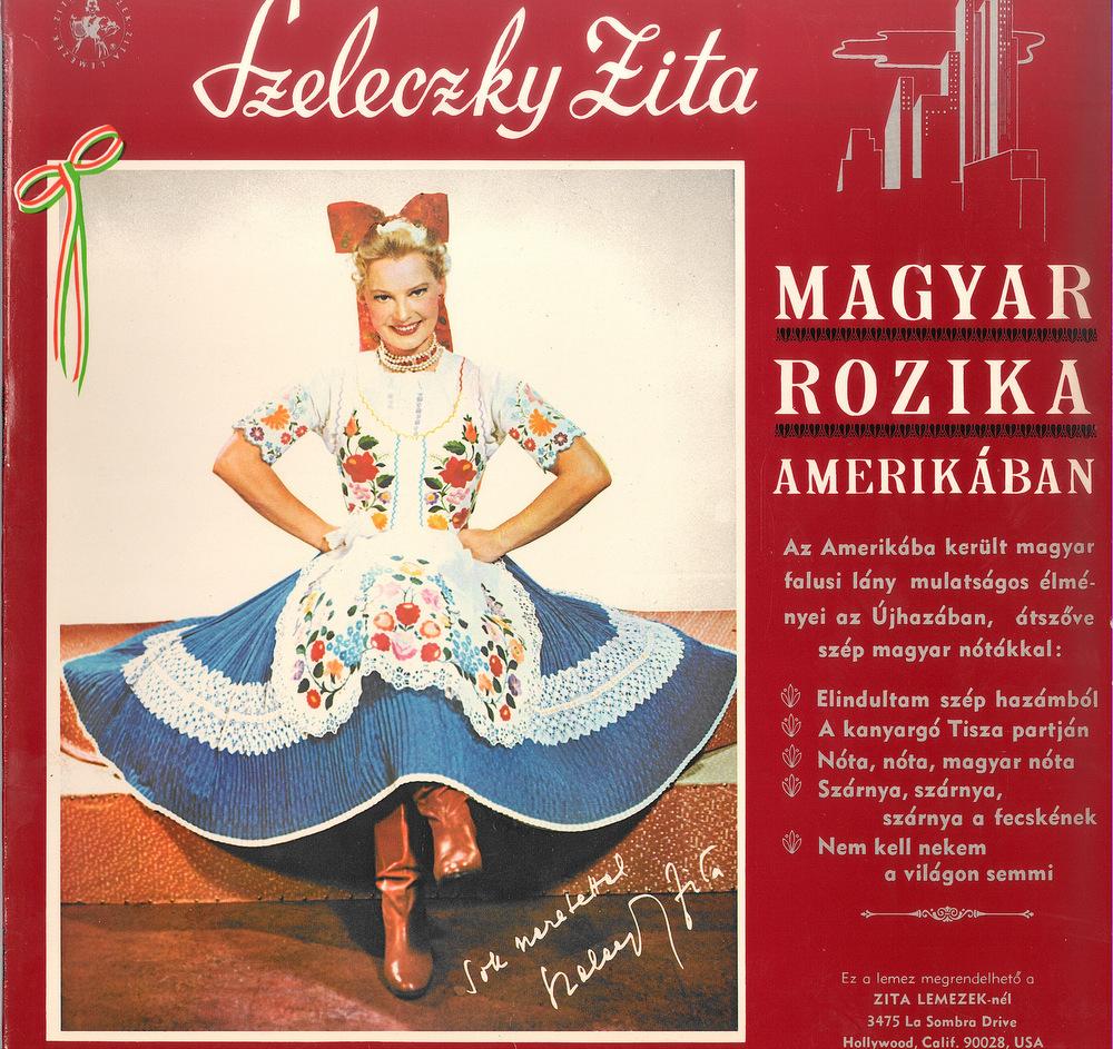 Magyar Rozika Amerikában;
