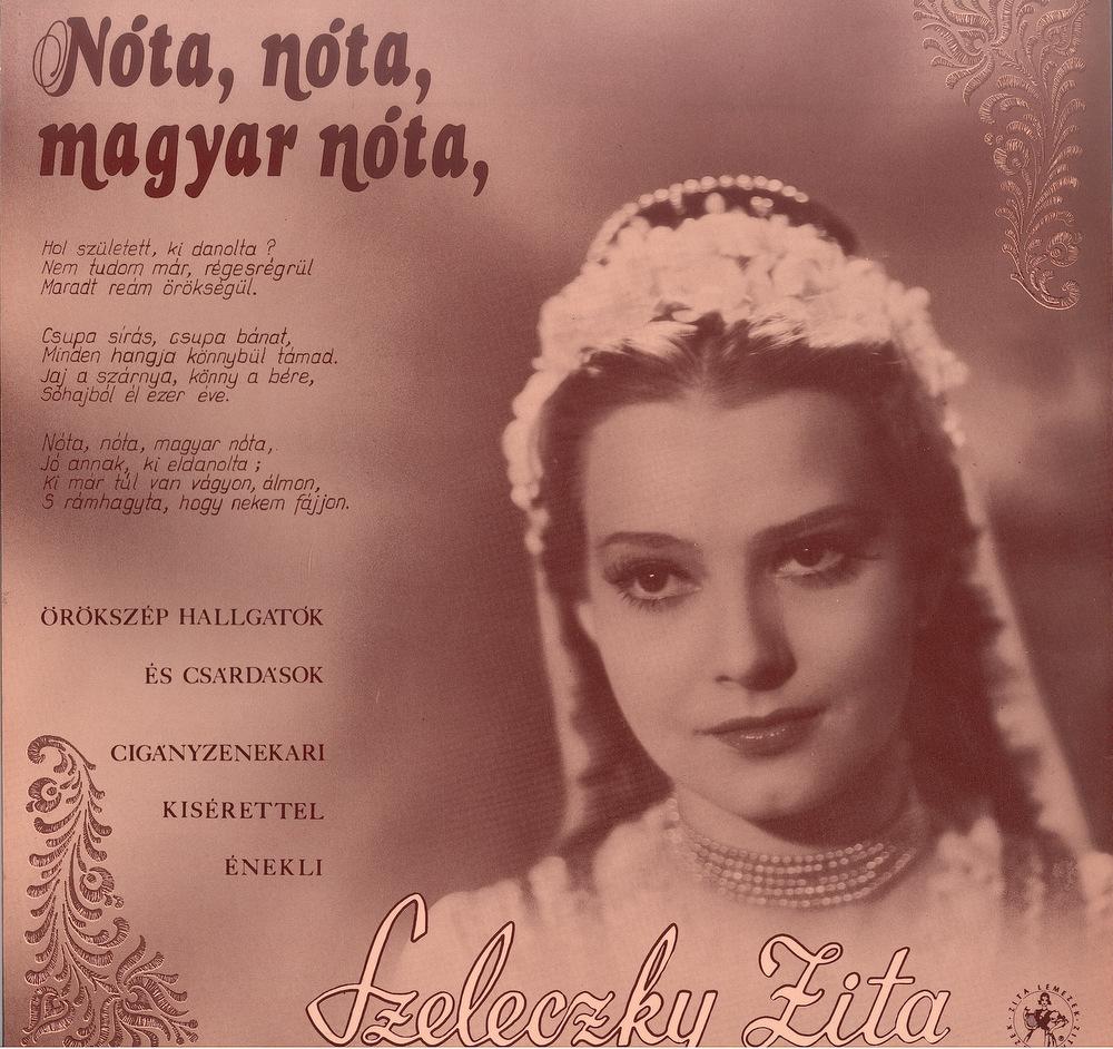 Nóta, nóta, magyar nóta lemezborító
