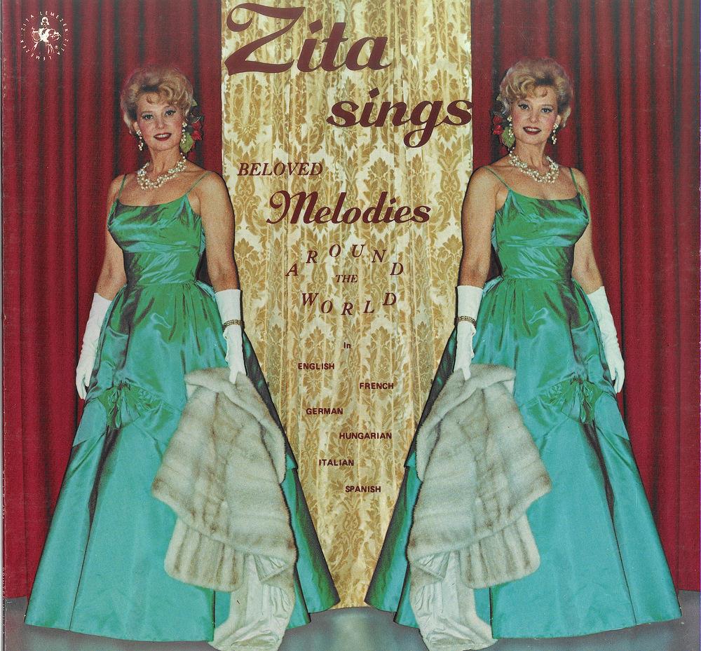 Zita Sings lemezborító
