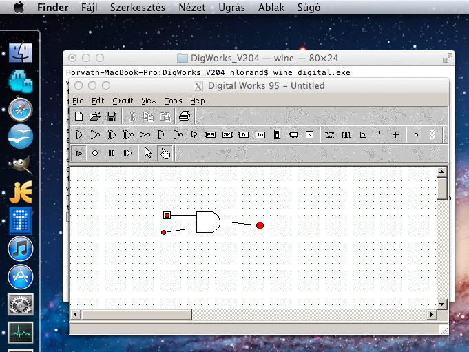 Windowsos programok futtatása Mac OS X alatt