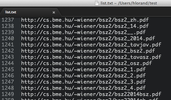 Brute-force URL fuzzer bash script