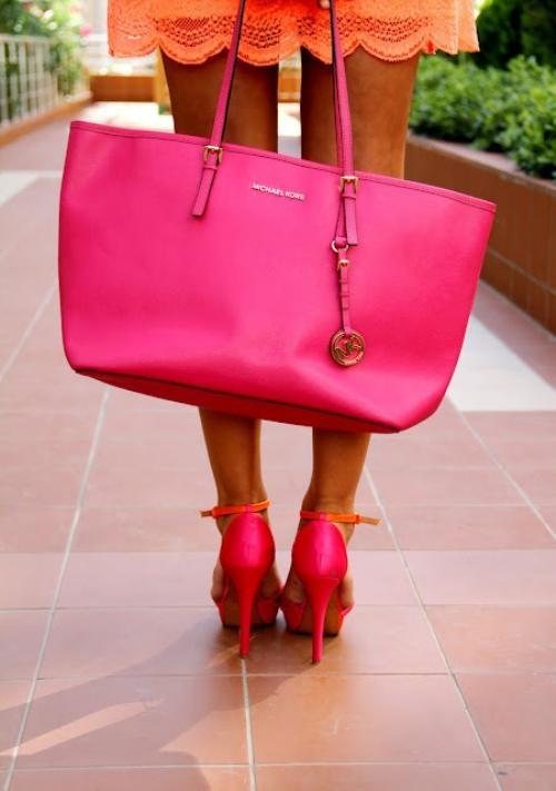 michael kors pink táska és cipő.jpg