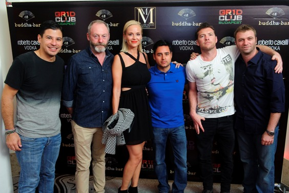 Balrol DJ EROK, Liam Cunningham, Christina Sunn Pedersen,Tara Ramos (Gr1d Club) Sam Worthington, Davide Palumbo (Gr1d Club).jpg