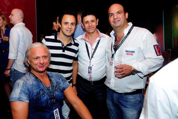 Balrol Sztano Tamás, Felipe Massa, Sameer Hamdan, Zuhair Awad.jpg