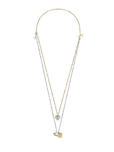 Collier Spiky valentine blanc et jaune.jpg