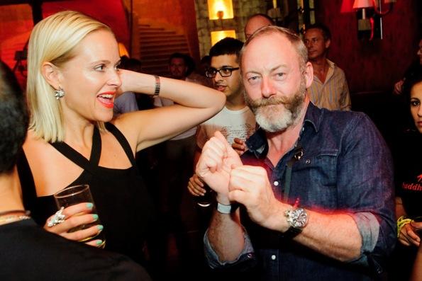 Liam Cunningham és Christina Sunn Pedersen.jpg
