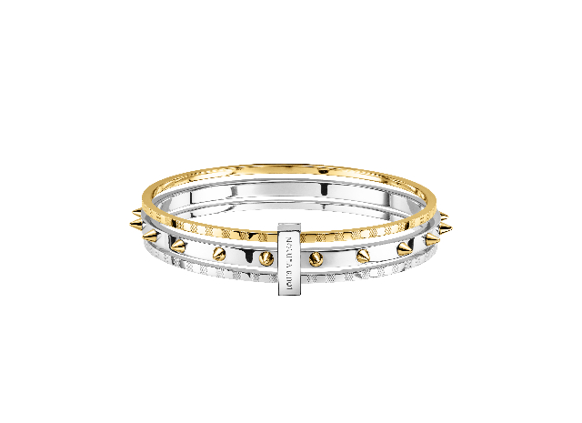 Set bracelets Spiky valentine OR JAUNE.jpg