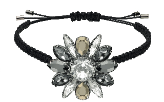 Swarovski by Shourouk Bracelet black.jpg