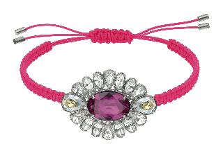 Swarovski by Shourouk Bracelet pink.jpg