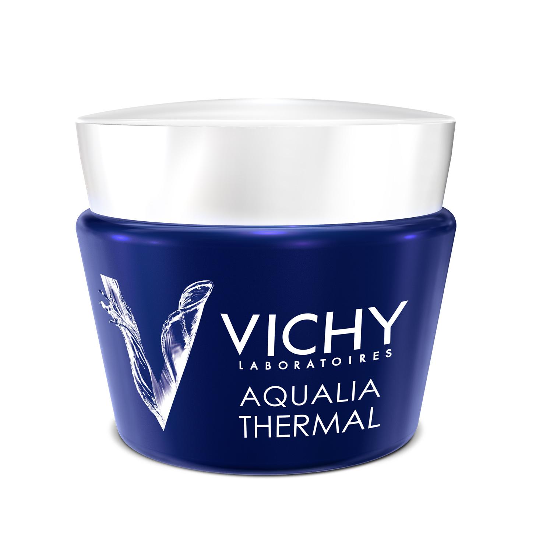 Виши аквалия термаль ночной спа-ритуал крем-гель, 75мл - vichy aqualia thermal spa de nuit.