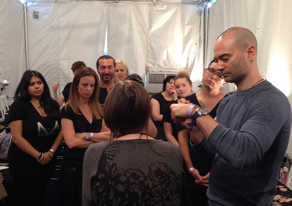 ossv GATO makeup artist lemodellezi nekünk a show sminkjét_1.JPG