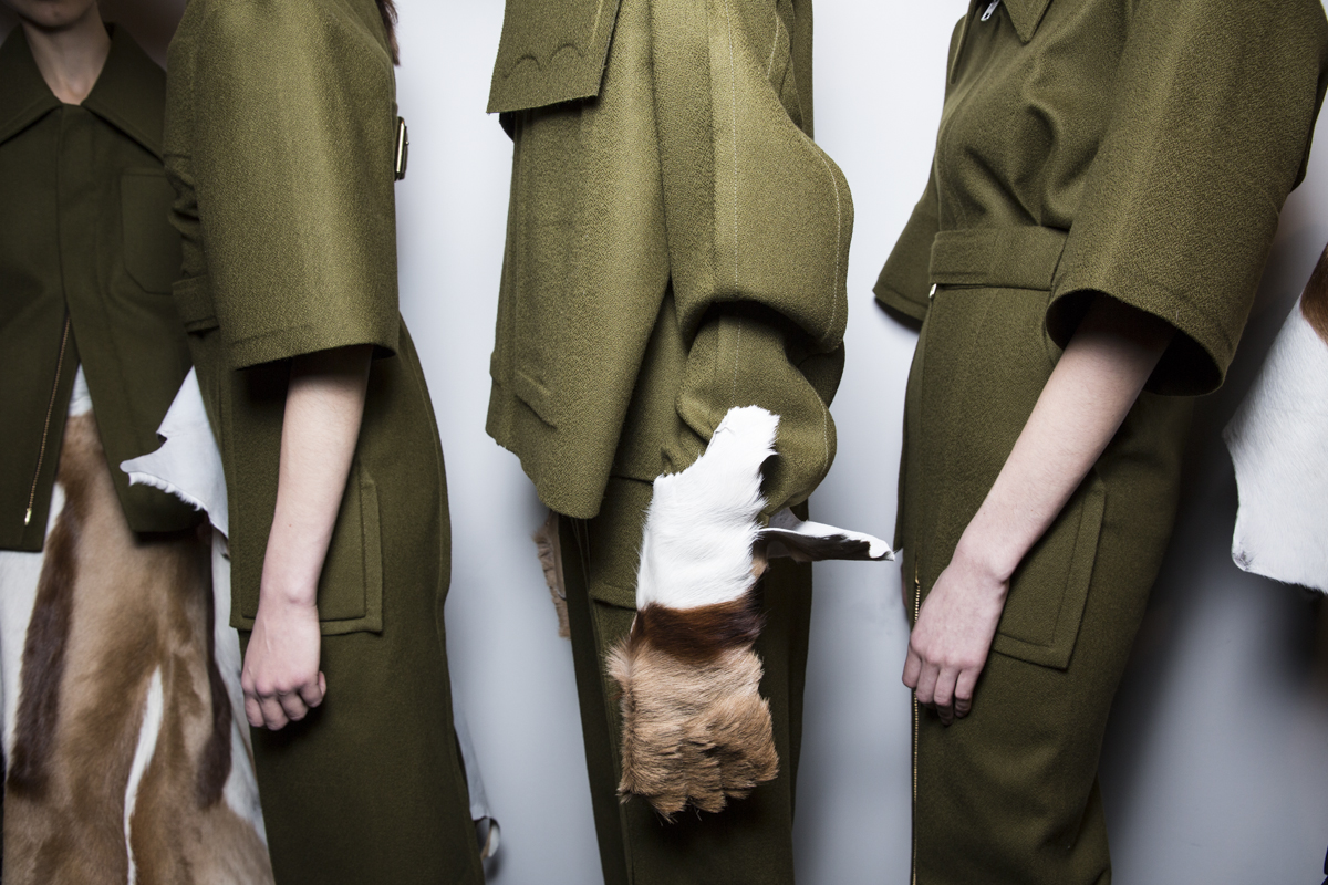 Central Saint Martins MA 2014, backstage (Sam Wilson, British Fashion Council) 9.jpg