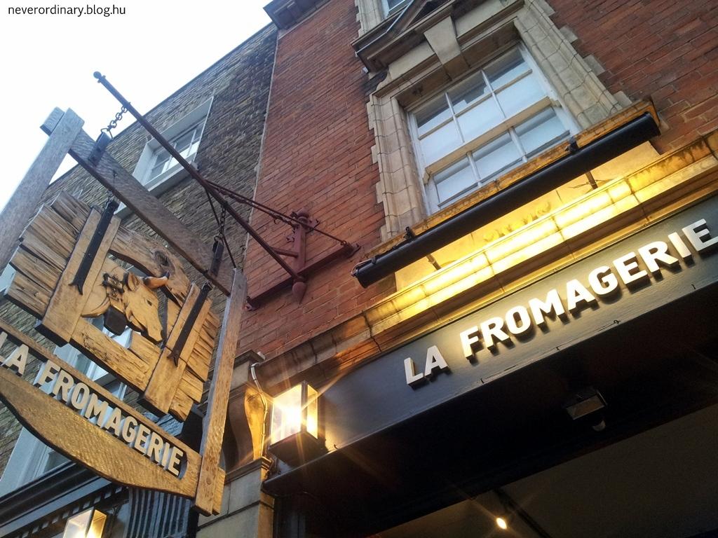 La Fromagerie – londoni sajtmennyország