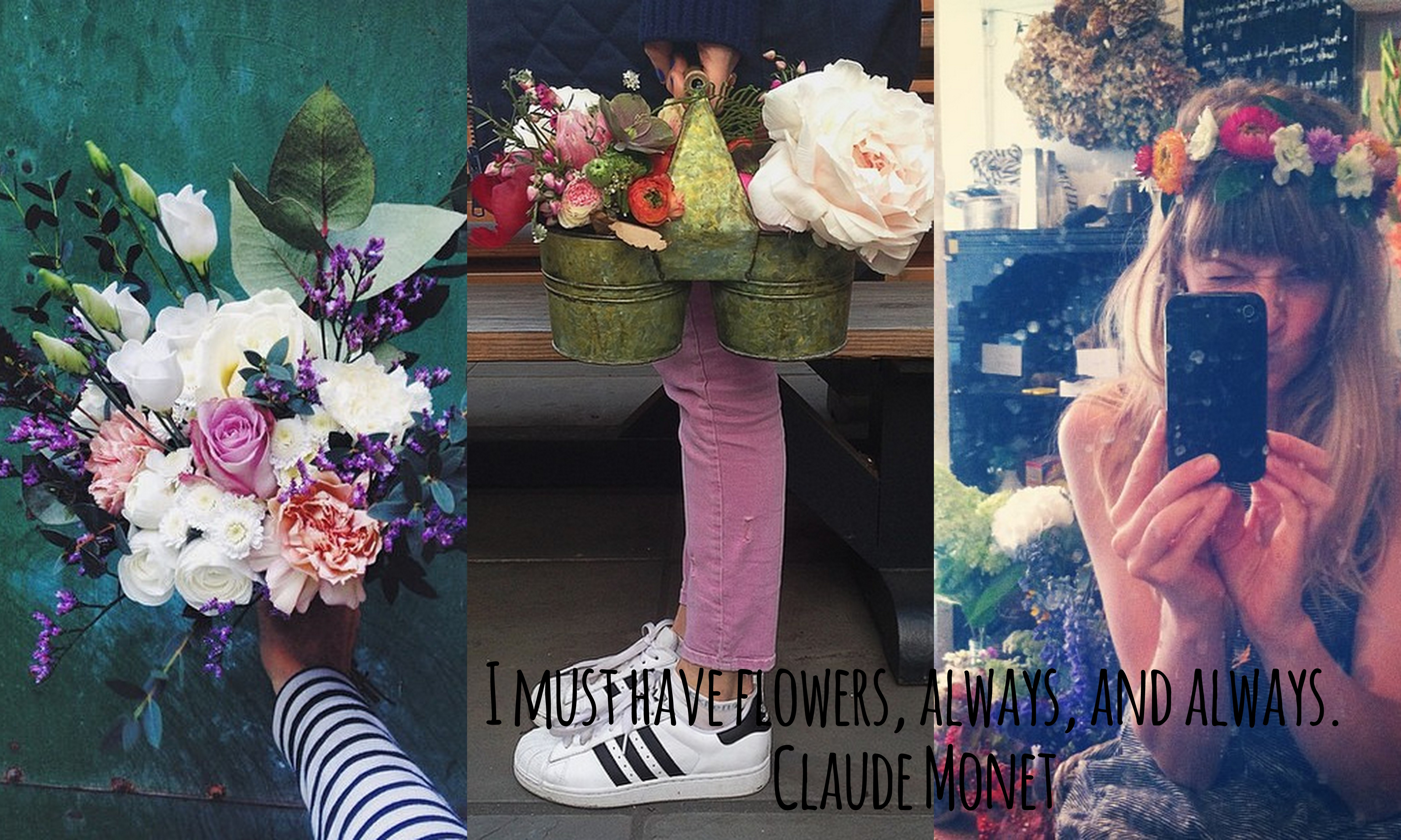 I must have flowers, always, and always – Claude Monet